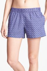 Shimera Pattern Sleep Shorts - Lyst