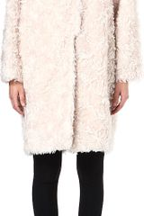 Stella McCartney Bryce Mohair-blend Coat - Lyst