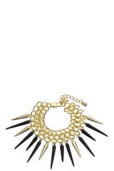 Whistles Chain Spike Bracelet - Lyst