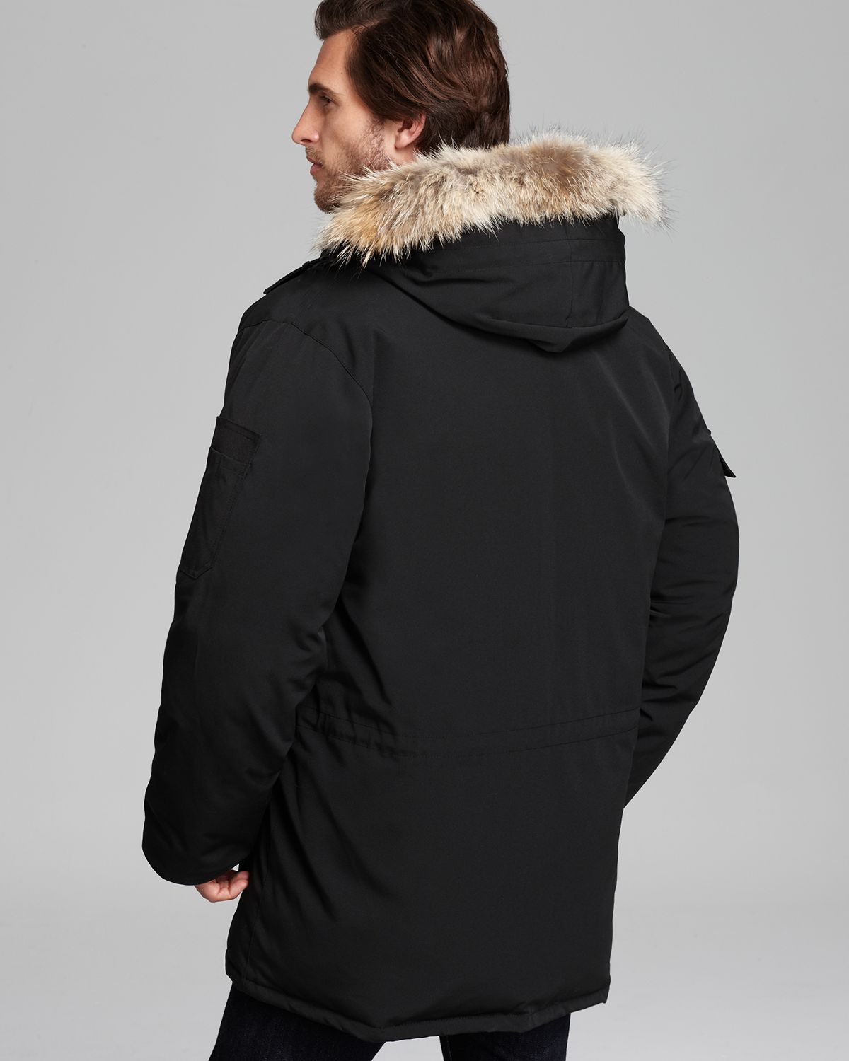 Canada Goose parka online cheap - Canada goose Expedition Down Parka in Black for Men | Lyst