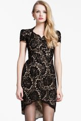 Cynthia Steffe Allie Lace Sheath Dress - Lyst