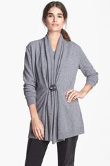 Lafayette 148 New York Shawl Collar Cardigan - Lyst