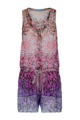 Matthew Williamson Ombre Butterfly Playsuit - Lyst