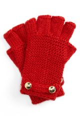 Michael by Michael Kors Fingerless Gloves - Lyst