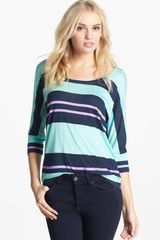 Splendid Tribeca Stripe Tunic - Lyst