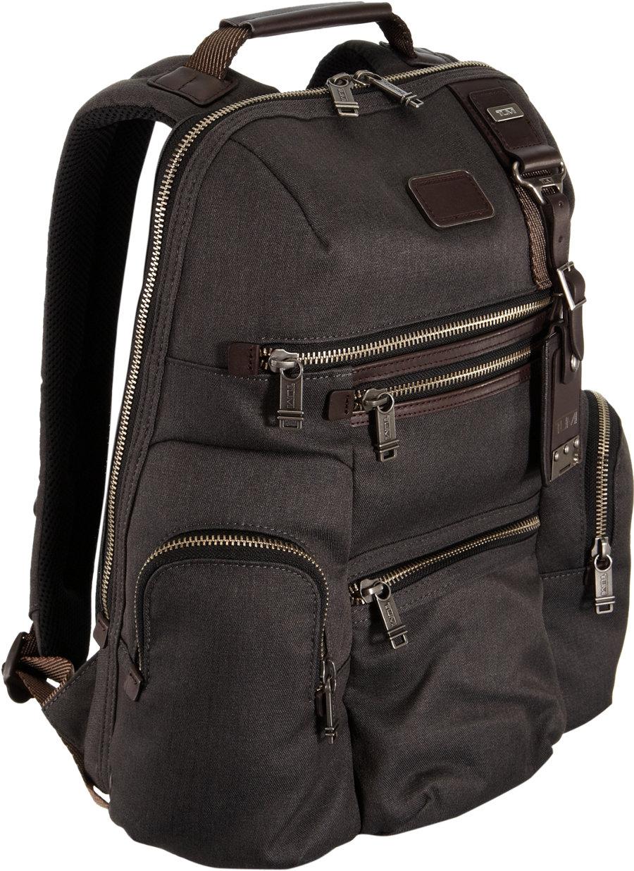 Tumi Alpha Bravo Knox Backpack In Black For Men