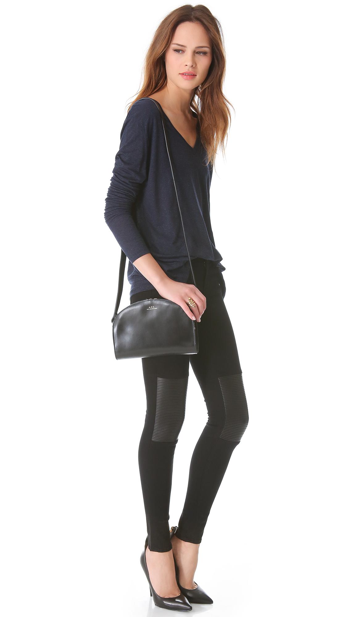 A.p.c. Sac Demi Lune Bag En Ligne Finishline Acheter La Vente En Ligne La Sortie En Vogue DpKUgkNk