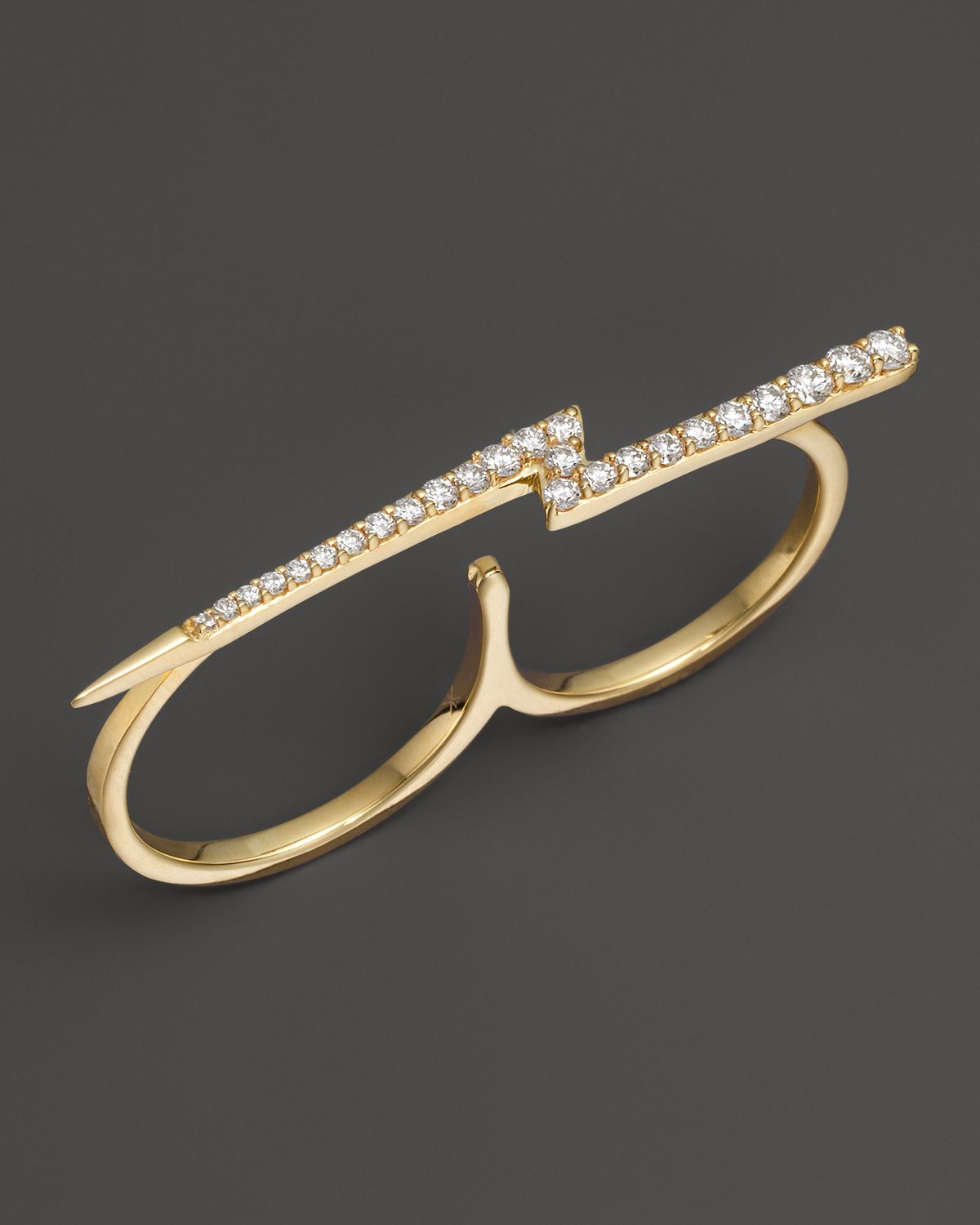 ring my iphone lyst khai khai zeus ring in 18k yellow gold 4 1498