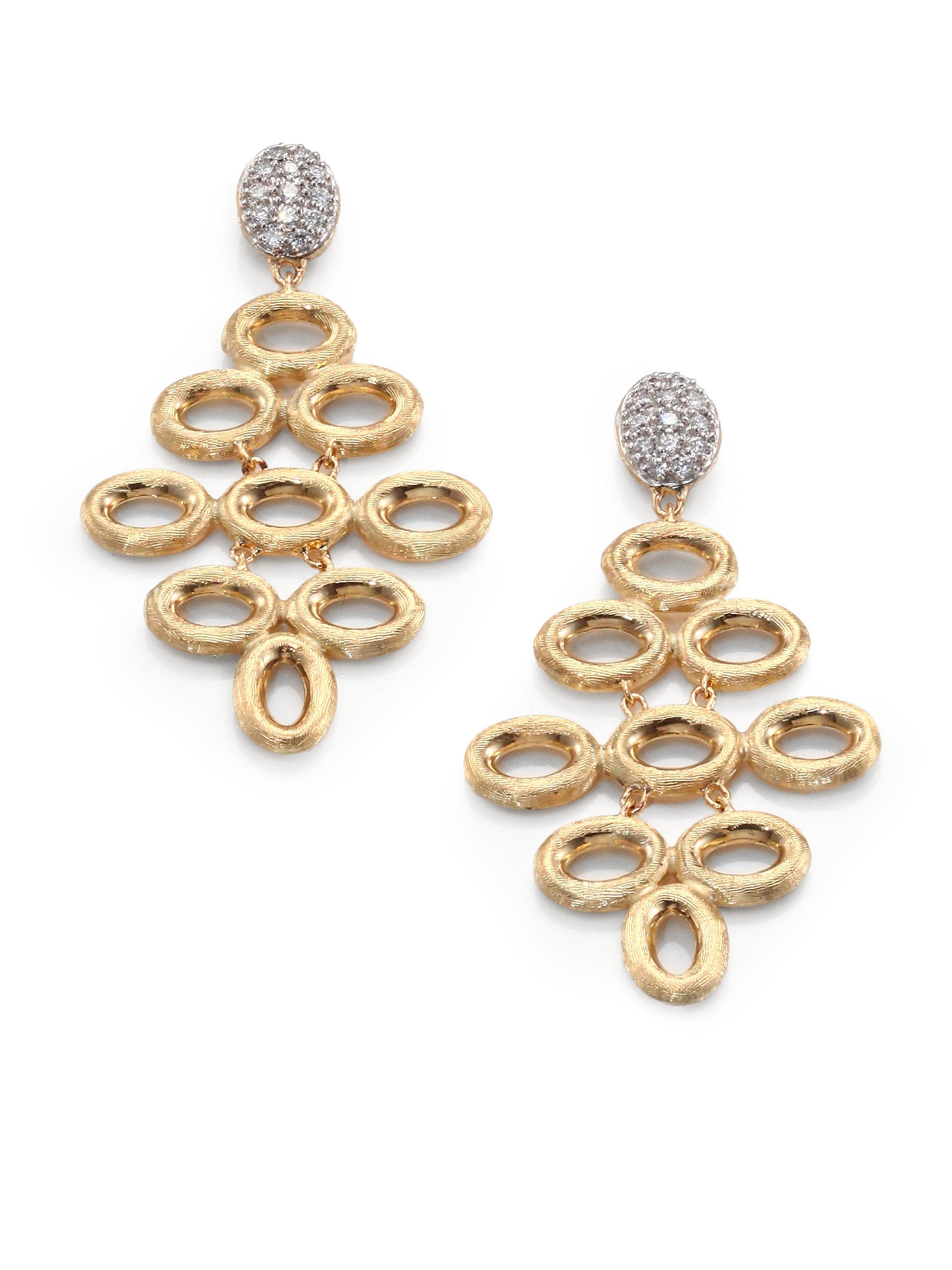 Lyst marco bicego siviglia diamond 18k yellow white gold gallery aloadofball Choice Image