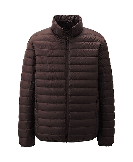 uniqlo ultra light down jacket in brown for men dark brown lyst. Black Bedroom Furniture Sets. Home Design Ideas