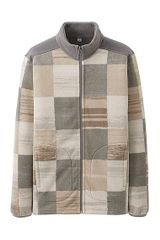 Uniqlo Printed Fleece Fullzip Long Sleeve Jacket B - Lyst
