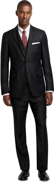 Brooks Brothers Fitzgerald Fit Tattersall Threepiece Suit - Lyst
