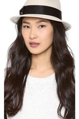 Eugenia Kim Lake Porkpie Hat - Lyst