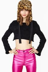 Nasty Gal Hot Child Crop Knit - Lyst