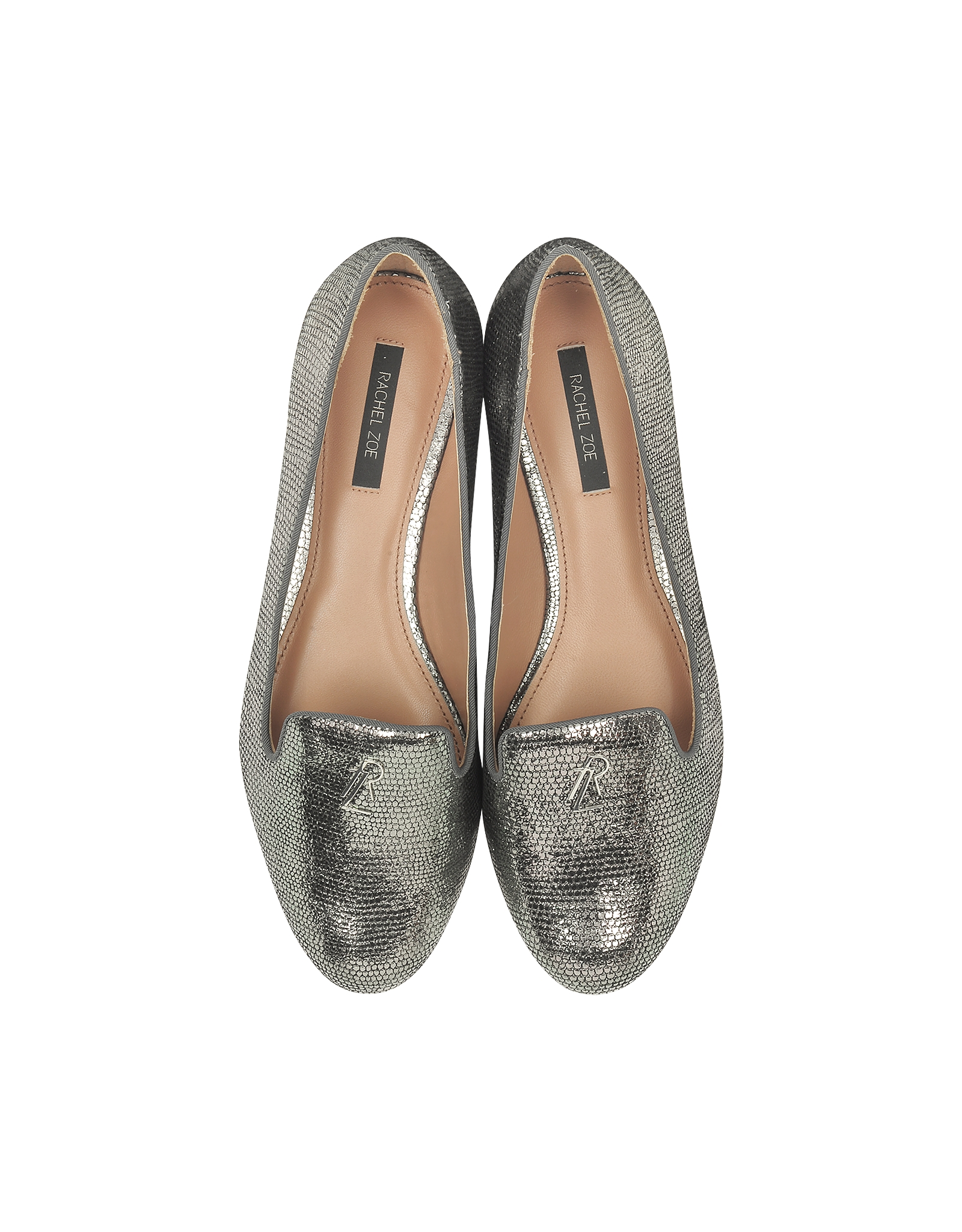 2b68a76f454 Lyst - Rachel Zoe Zahara Metallic Lizard Loafer in Metallic
