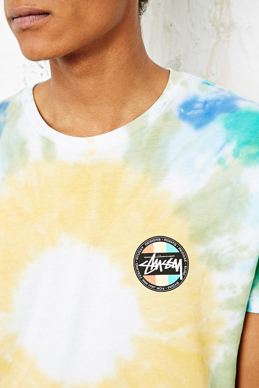 fe81ecb3 Stussy Reggae Dot Tie Dye T Shirt – EDGE Engineering and Consulting ...