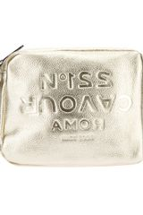 5preview Cavour Embossed Crossbody Bag - Lyst