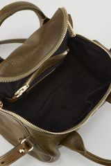 Alexander Wang Rockie Small Crossbody Satchel Bag Oliveyellow Golden in Brown (OLIVE) - Lyst