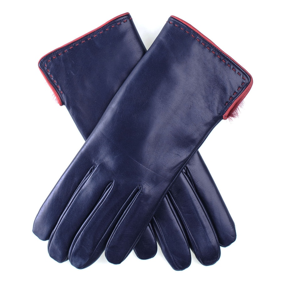 Blue leather gloves ladies uk - Gallery Men S Knitted Gloves Men S Leather Gloves