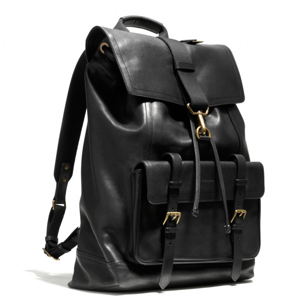 Coach Bleecker Backpack In Leather in Brown for Men ...