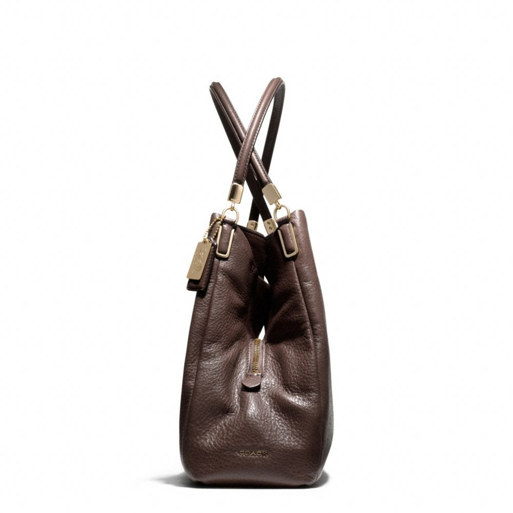 lyst coach madison small phoebe shoulder bag in leather