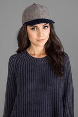 Genie By Eugenia Kim Corey Hat in Brown - Lyst