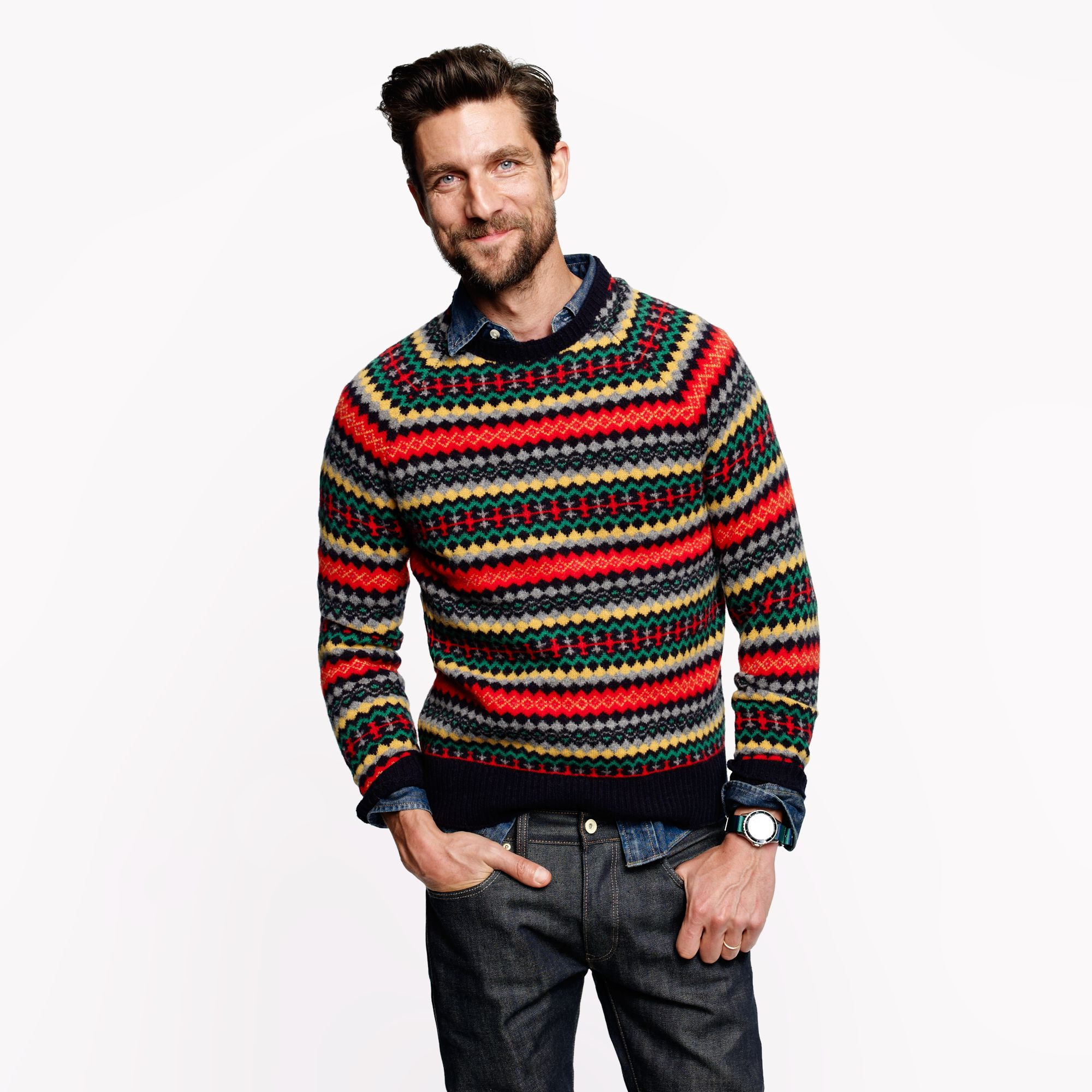 Find mens fair isle sweater at ShopStyle. Shop the latest collection of mens fair isle sweater from the most popular stores - all in one place.