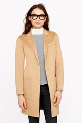 J.Crew Collection Cashmere Top Coat - Lyst