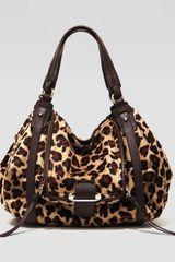 Kooba Jonnie Leopardprint Calf Hair Hobo Bag - Lyst