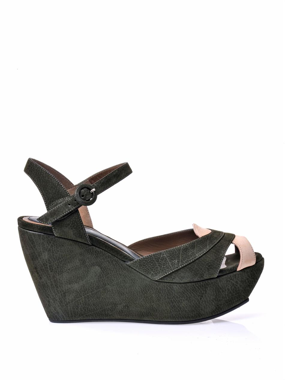 find great online Marni Suede Wedge Sandals outlet Inexpensive clearance 100% guaranteed visa payment online 5wnjXgEhgX