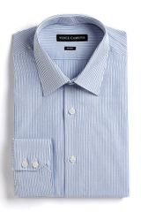 Vince Camuto Striped Cotton Dress Shirt - Lyst