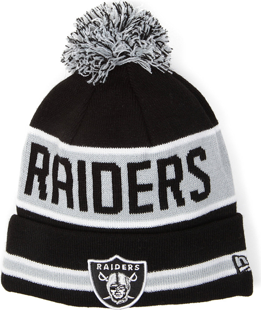 KTZ La Raiders Beanie Hat in Black for Men - Lyst 35d6411d24c