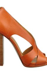 Nine West Vaila Peep Toe Pump - Lyst