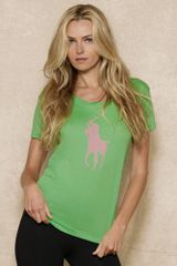Pink Pony Short Sleeved Tee - Lyst