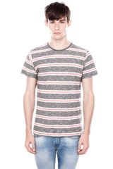 Pull&Bear Striped T shirt - Lyst