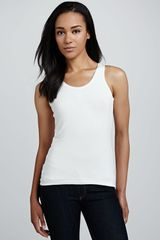 David Lerner Racerback Sweater Tank - Lyst