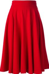 Dolce & Gabbana Pleated Skirt - Lyst