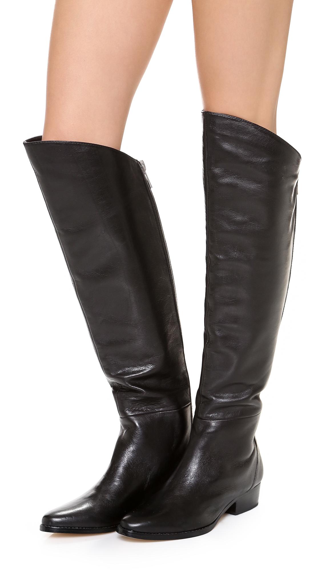 Dolce Vita Daroda Tall Boots In Black Lyst