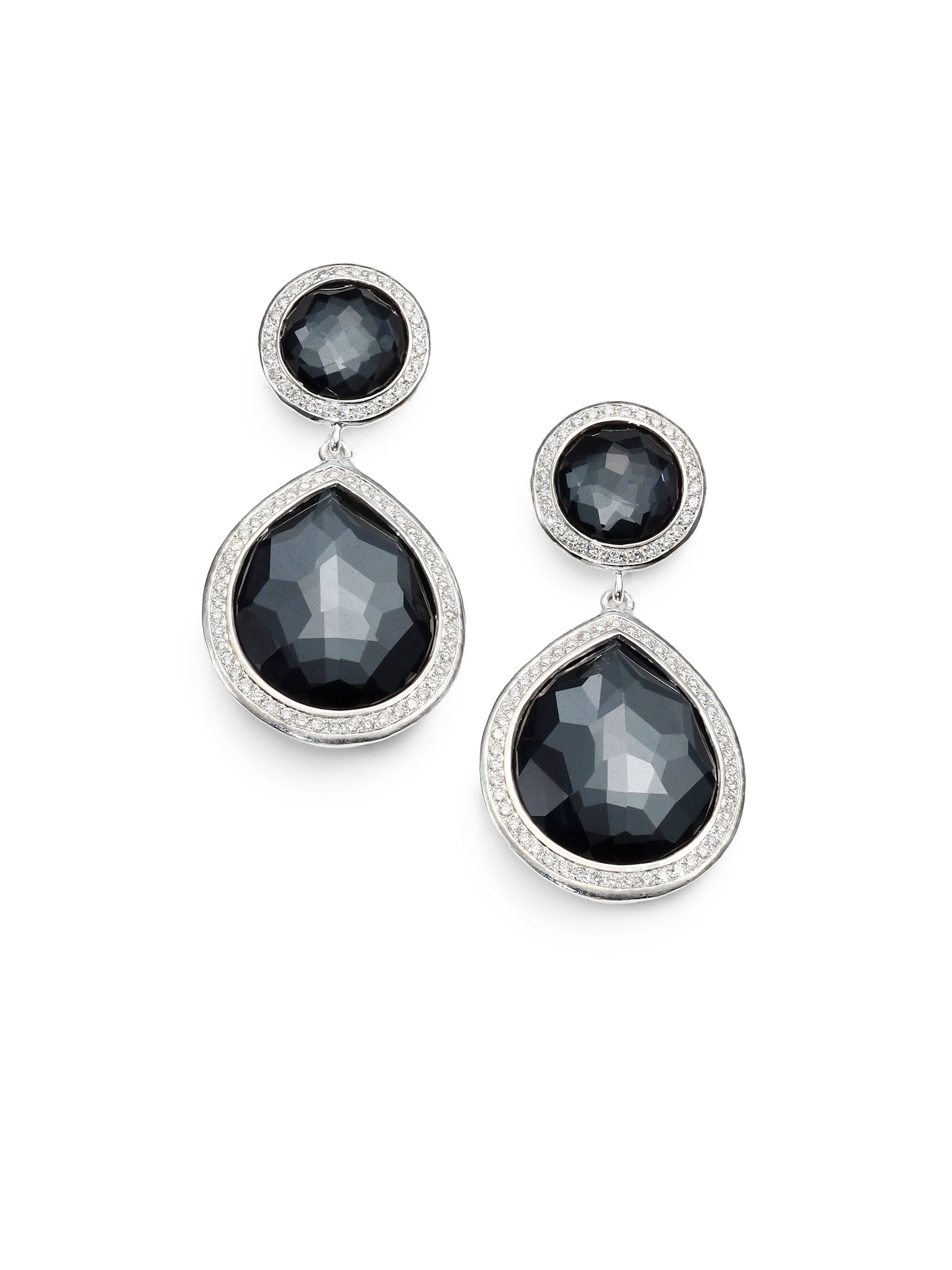 ippolita stella hematite sterling silver two