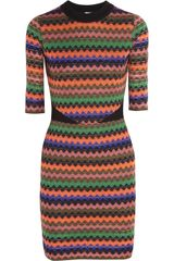 M Missoni Knitted Dress - Lyst