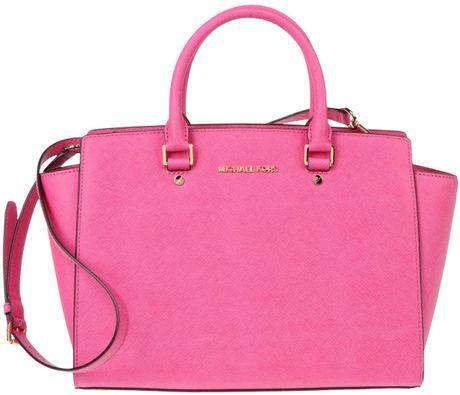 Michael Michael Kors Shoulder Bag In Pink Fuchsia Lyst