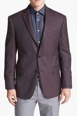 Michael Kors Kors Trim Fit Wool Blazer - Lyst