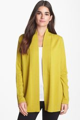 Nordstrom Collection Open Front Cashmere Cardigan - Lyst