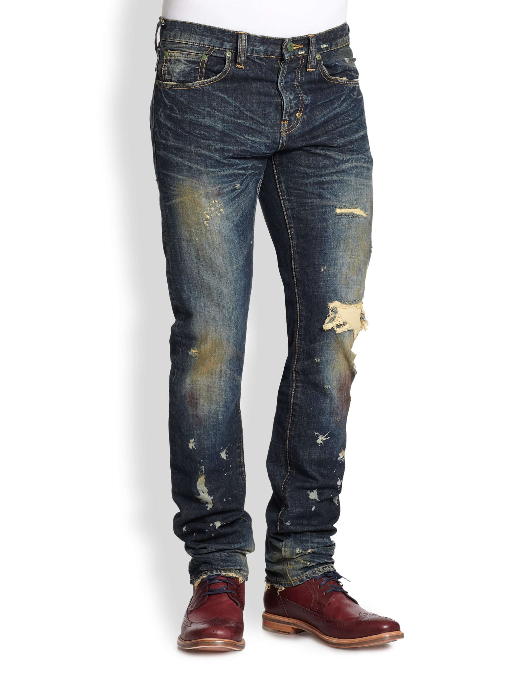 Skinny Leg Jeans Mens