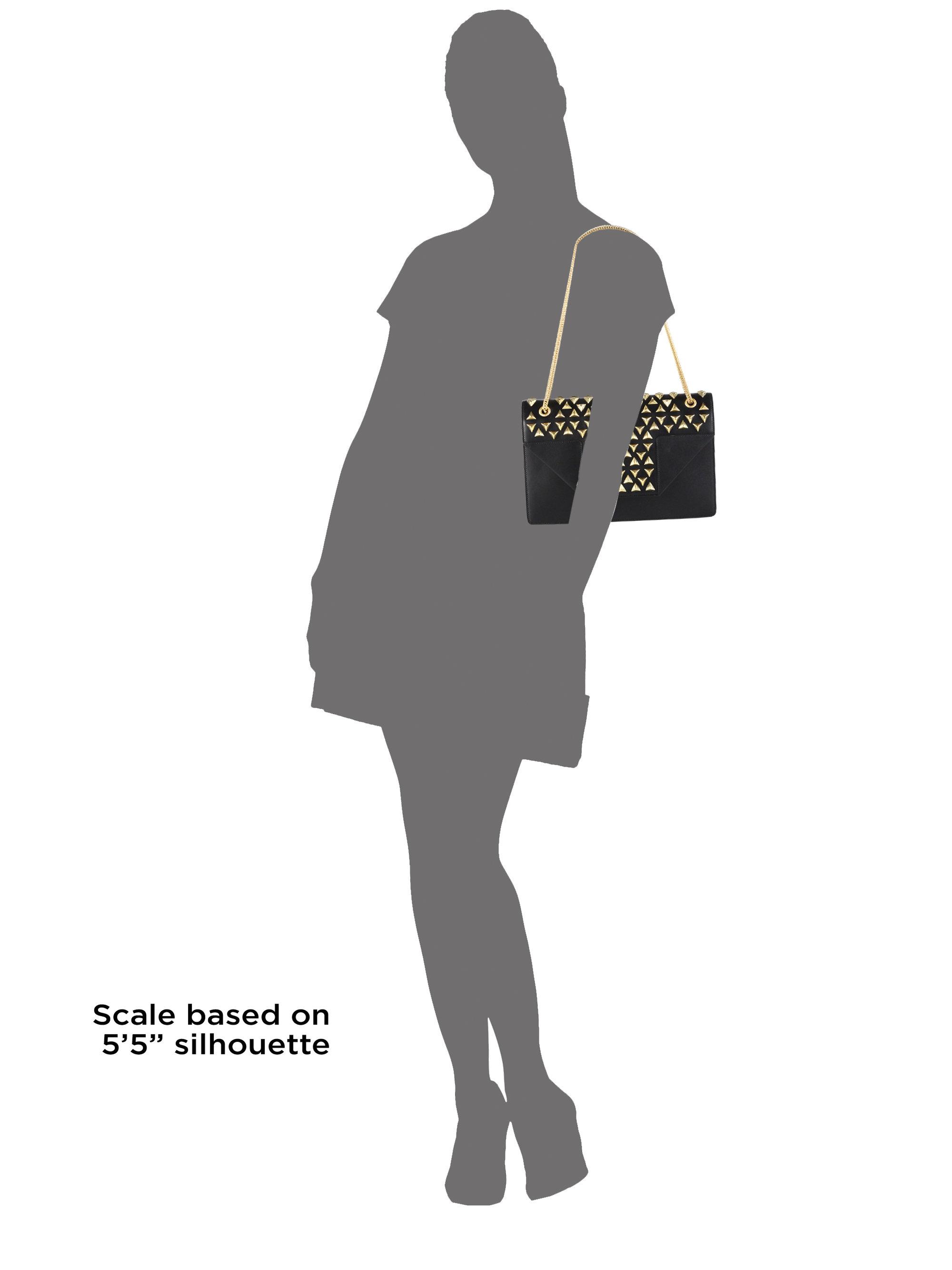 ysl sale handbags - Saint laurent Betty Medium Stud Shoulder Bag in Black (NERO) | Lyst
