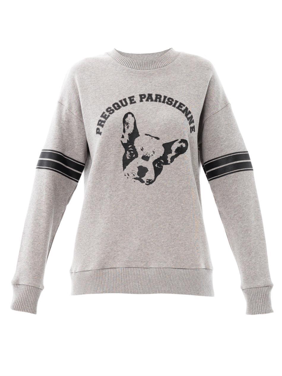 Sweatshirt with french bulldog esSQycNRkq