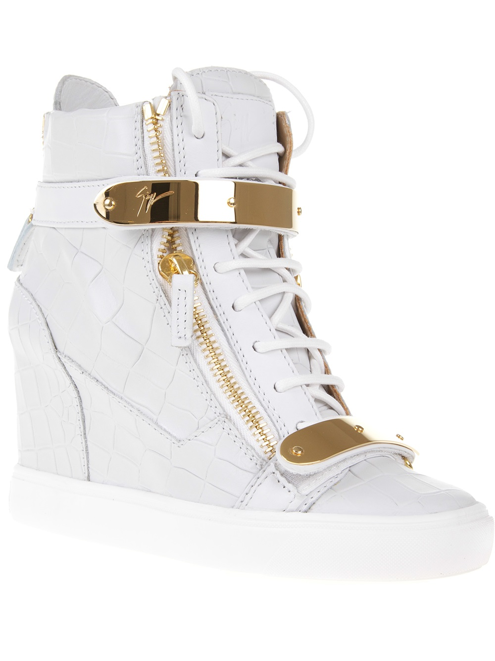 50e2f33a89c7 Gallery. Previously sold at  Farfetch · Women s Wedge Sneakers ...
