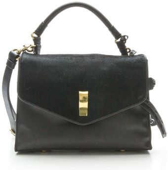 Gryson Ruby Calfhair Top Handle Messenger - Lyst