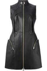 Junya Watanabe Leather Dress - Lyst