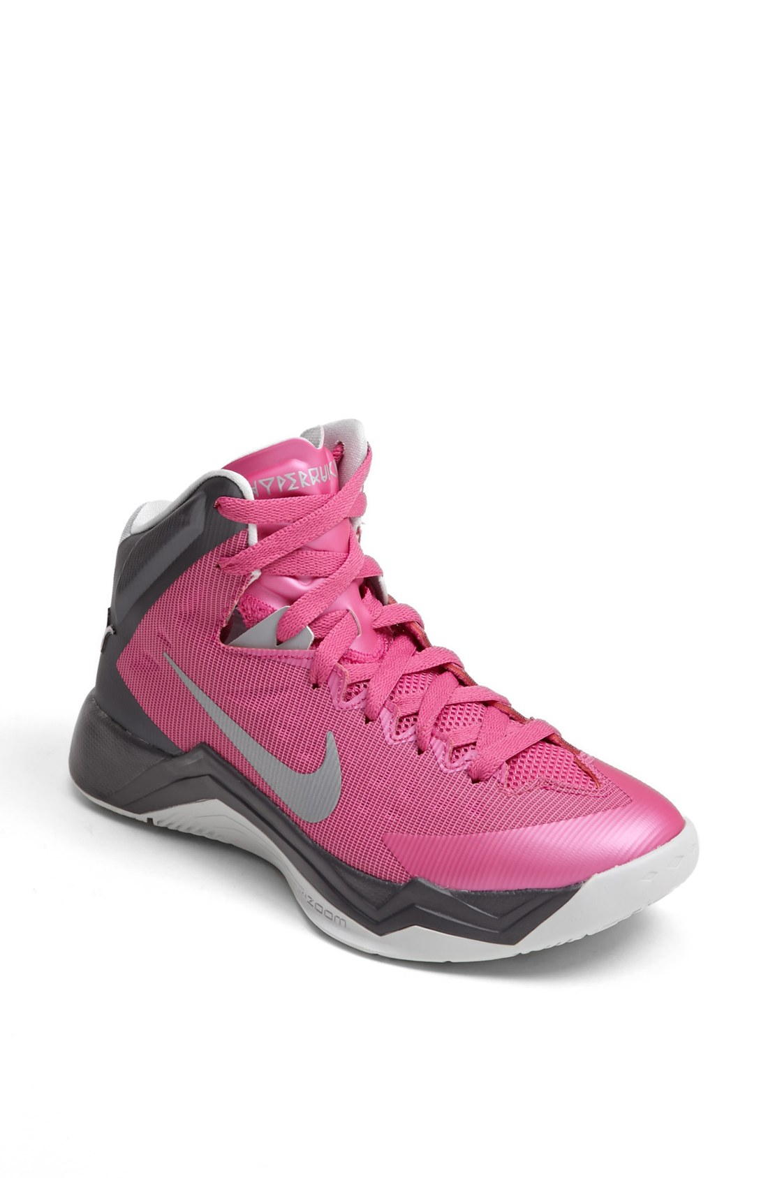 nike hyper quickness basketball shoe in pink lyst